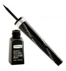 Isadora Glossy Eyeliner Водоустойчива Очна линия с твърд писец 7мл - Черен