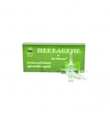 BioPharma Herbagene – ампули за омазняващи се коси, срещу пърхот и косопад 8x10 мл.