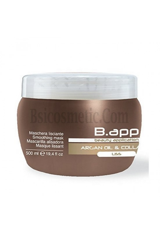 B.app Заглаждаща маска с арганово масло и колаген 500мл SLS Free!