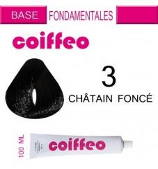 Coiffeo - 3 Тъмно кестеняво 100мл.