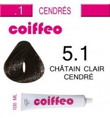 Coiffeo - 5.1 Светло кестеняво пепеливо 100мл.