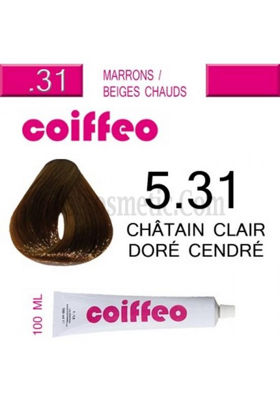 Coiffeo - 5.31 Златисто пепелно светло кестеняво