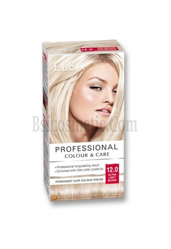 "ELEA Боя за коса ""Elea Professional Colour & Care"" - № 12/0 Ултра светло рус"