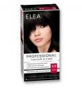 "ELEA Боя за коса ""Elea Professional Colour & Care"" - № 2/0 Черен"