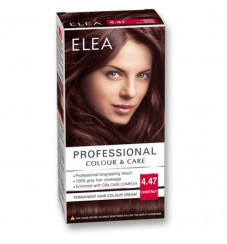 "ELEA Боя за коса ""Elea Professional Colour & Care"" - № 4/47 Кестен"