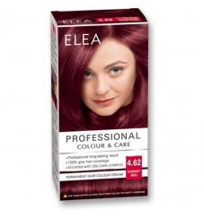 "ELEA Боя за коса ""Elea Professional Colour & Care"" - № 4/62 Вишнево червен"