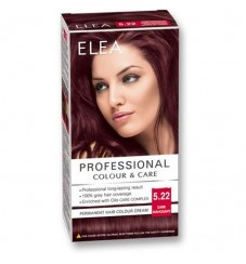 "ELEA Боя за коса ""Elea Professional Colour & Care"" - № 5/22 Тъмен махагонa"