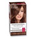 """ELEA Боя за коса """"Elea Professional Colour & Care"""" - № 5/4 Златен кестен"""