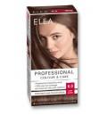 "ELEA Боя за коса ""Elea Professional Colour & Care"" - № 6/0 Тъмно рус"