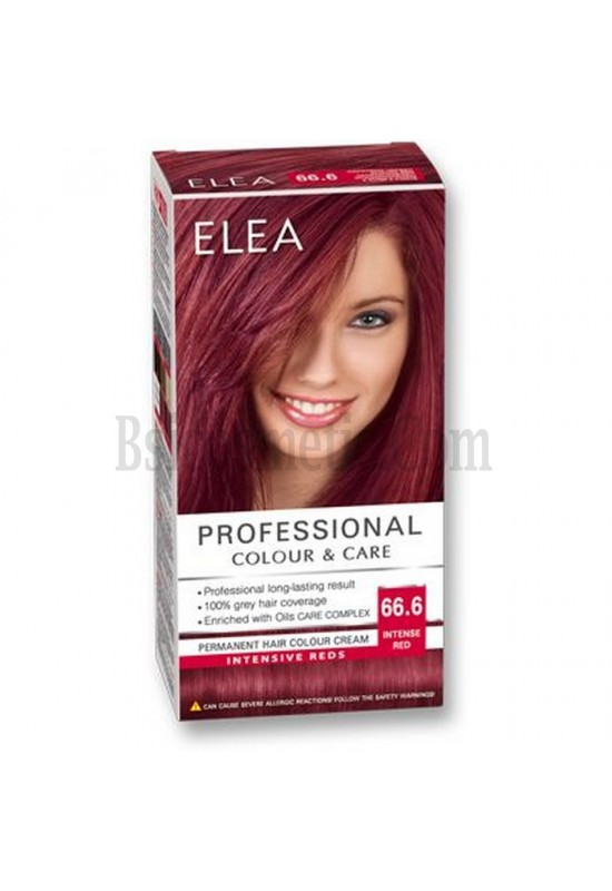 "ELEA Боя за коса ""Elea Professional Colour & Care"" - № 66/6 Наситено червен"