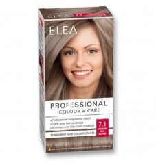 "ELEA Боя за коса ""Elea Professional Colour & Care"" - № 7/1 Средно пепелно рус"