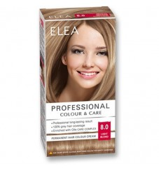"ELEA Боя за коса ""Elea Professional Colour & Care"" - № 8/0 Светло рус"