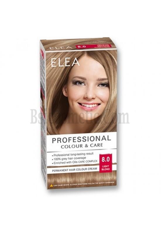 "ELEA Боя за коса ""Elea Professional Colour & Care"" - № 8/0 Светло рус"