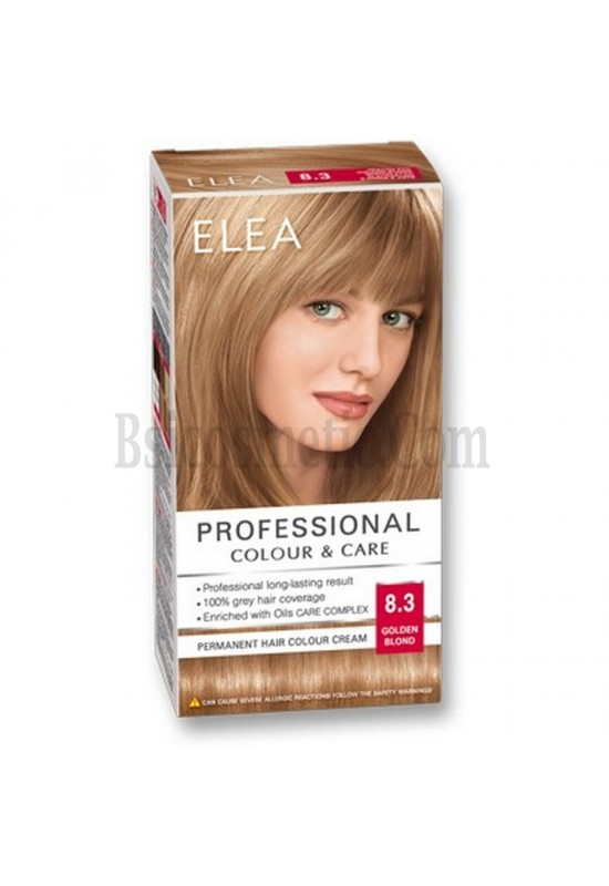 "ELEA Боя за коса ""Elea Professional Colour & Care"" - № 8/3 Златно рус"