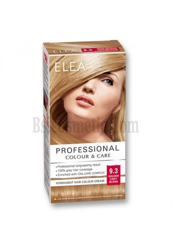 "ELEA Боя за коса ""Elea Professional Colour & Care"" - № 9/3 Златно светло рус"