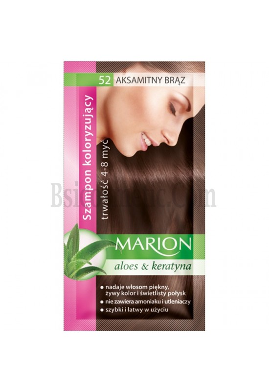 Marion Шампоан оцветител 52 кадифено кафяво / velvet brown