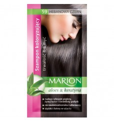 Marion Шампоан оцветител 59 абаносово черно / ebony black