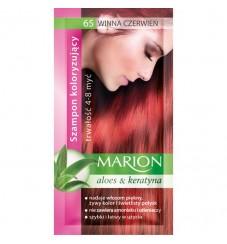 Marion Шампоан оцветител 65 винено червено / wine red