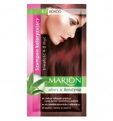 Marion Шампоан оцветител 67 бордо / claret