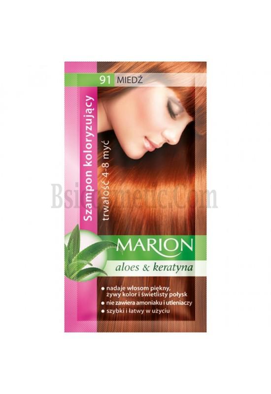 Marion Шампоан оцветител 91 мед / copper