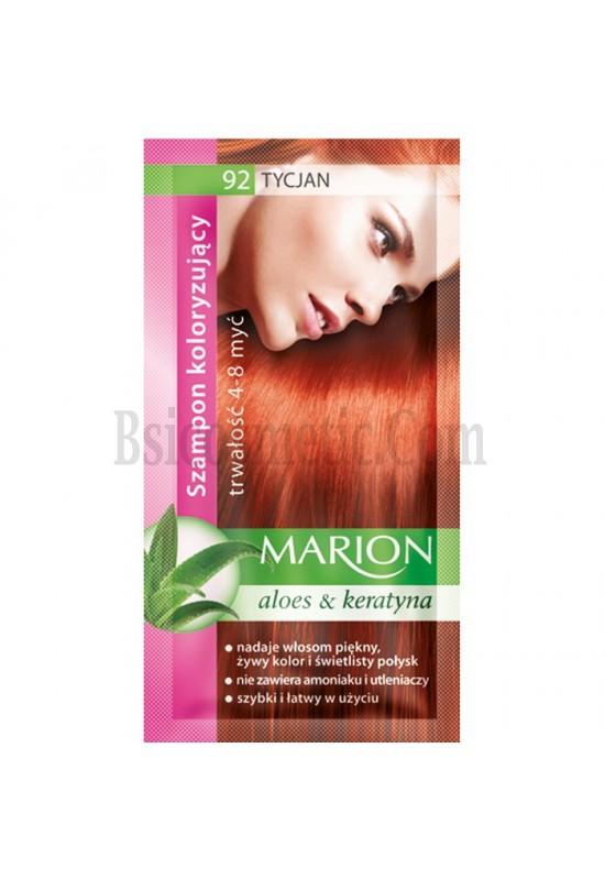 Marion Шампоан оцветител 92 тициан / titan