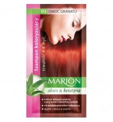Marion Шампоан оцветител 93 гранатово червено / pomegranate