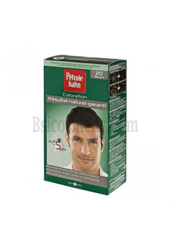 Petrole Hahn 20 Боя за коса за мъже тъмно кафяво