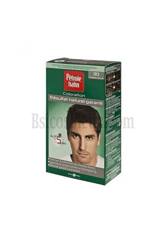 Petrole Hahn 30 Боя за коса за мъже тъмно кестеняво