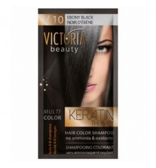 Victoria Beauty V 10 EBONY BLACK / NOIR D'ÉBÈNE / АБАНОСОВО ЧЕРНО 40 гр