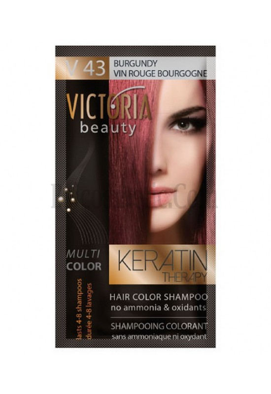 Victoria Beauty V 43 BURGUNDY / VIN ROUGE BOURGOGNE / БУРГУНДИ 40 гр
