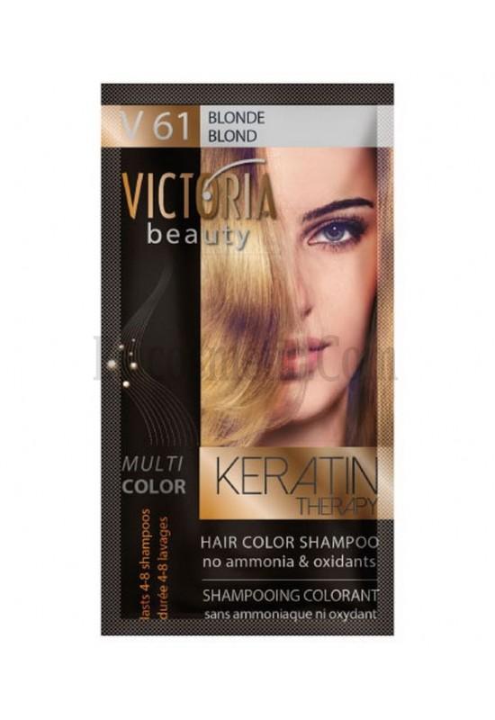 Victoria Beauty V 61 BLOND / BLOND / РУС 40 гр