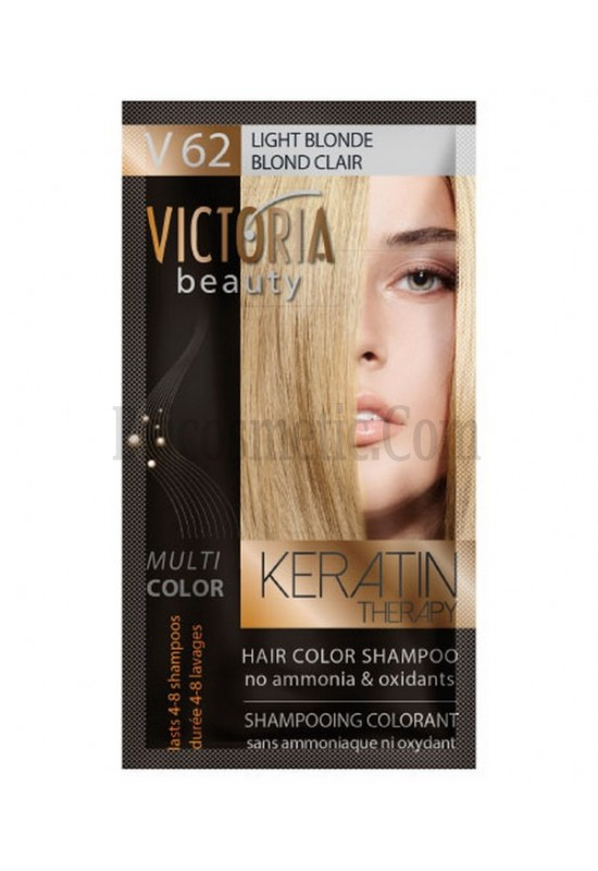 Victoria Beauty V 62 LIGHT BLOND / BLOND CLAIR / СВЕТЛО РУС 40 гр