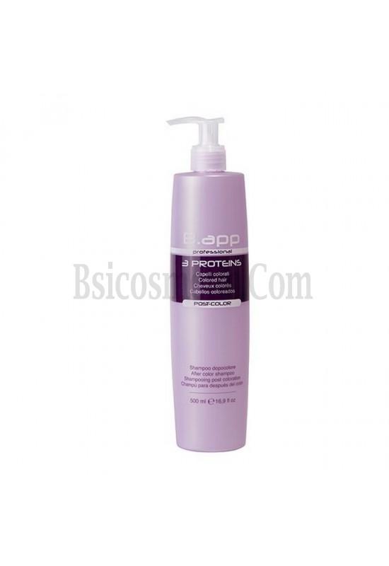 B.app Шампоан с кератин, колаген и еластин за боядисвани коси 500мл.