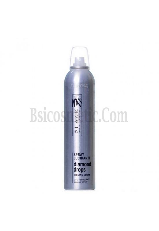 BLACK Diamond drops - лак за коса за брилянтен блясък 300 мл