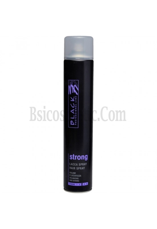 Black Лак за коса STRONG