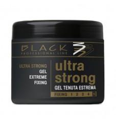 Black Ultra Strong Gel Extreme Fixing гел със силна фиксация 500 мл.