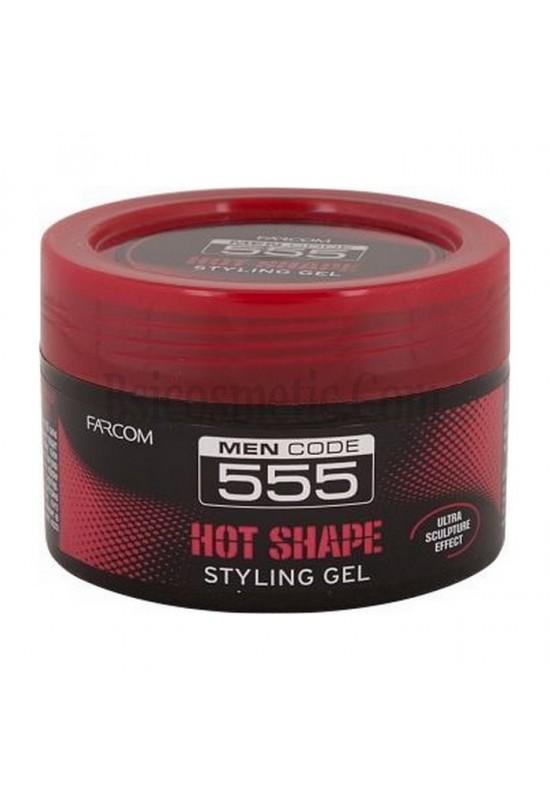 """SERI Оформящ гел за коса """"555"""", силна фиксация"""