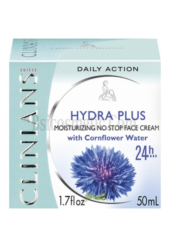 Clinians Hydra Plus Супер овлажняващ 24 часов крем за лице с воден комплекс