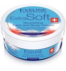 EVELINE Подхранващ крем за лице и тяло за всеки тип кожа