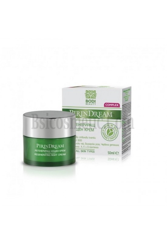 Pirin Dream Супер регенериращ нощен крем 50 ml