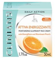 Clinians Ревитализиращ, овлажняващ и защитен крем за лице с витамини С+Е