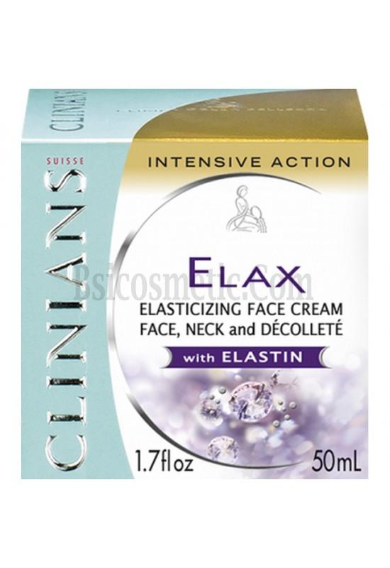 Clinians Elax крем против бръчки за заздравяване на кожата с еластин