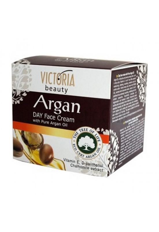 Victoria Beauty Дневен крем за лице с чисто арганово масло