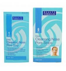 Beauty Formulas Дълбоко почистващи лепенки за нос 6бр.