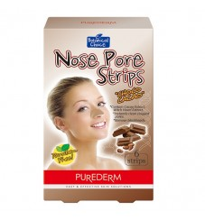 Purederm Лепенки за почистване на нос Шоколад 6 бр.