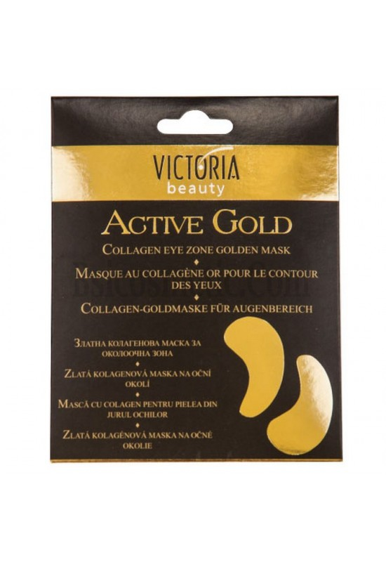 Victoria beauty Колагенова златна маска за околоочна зона Active Gold