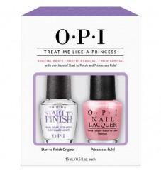 O.P.I Комплект-База, заздравител и топ лак 15 мл. + Лак за нокти Princesses Rule 15 мл.