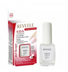 Revuele S.O.S Комплекс за меки,тънки и цепещи се нокти 9 мл