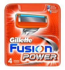 Gillette Fusion Power резервни ножчета 4 бр