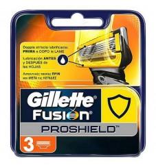 Gillette Fusion ProShield резервни ножчета 3 бр
